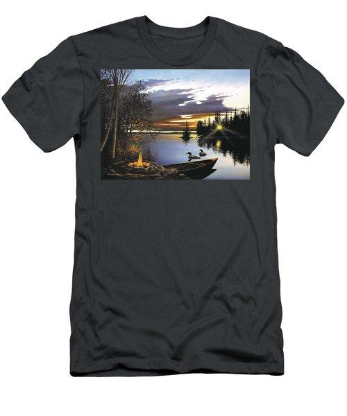 Loon Lake Men's T-Shirt (Athletic Fit)