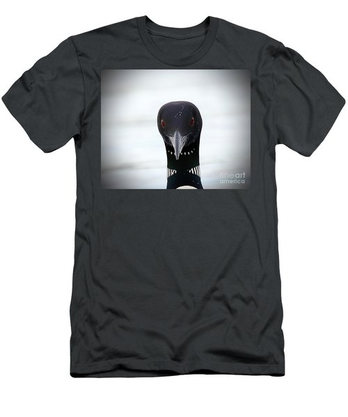 Loon Stare Men's T-Shirt (Slim Fit)