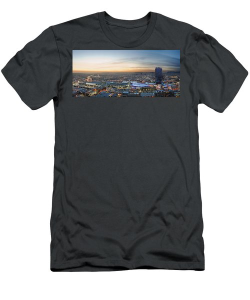 Los Angeles West View Men's T-Shirt (Slim Fit) by Kelley King