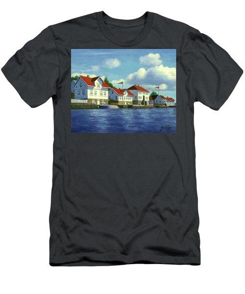 Loshavn Village Norway Men's T-Shirt (Athletic Fit)