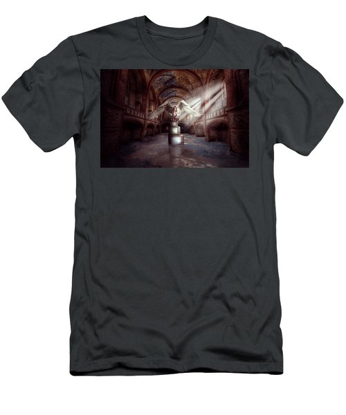 Losing My Religion Men's T-Shirt (Slim Fit) by Nathan Wright