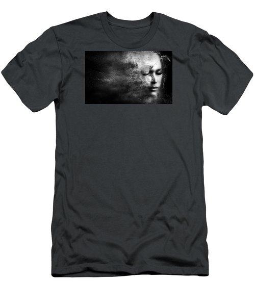 Losing Myself Men's T-Shirt (Slim Fit) by Jacky Gerritsen
