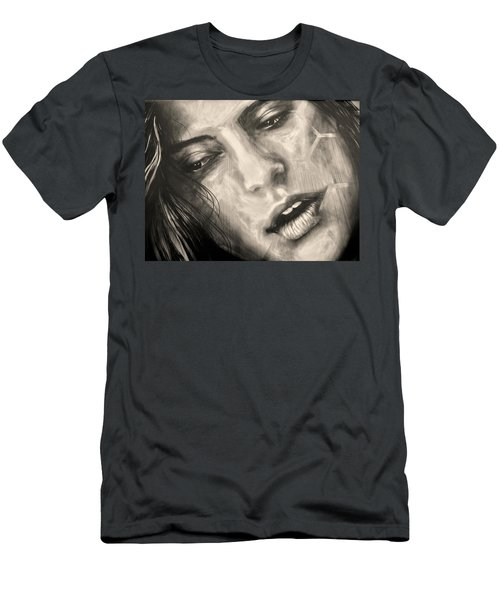 Men's T-Shirt (Slim Fit) featuring the photograph Losing Sleep ... by Juergen Weiss