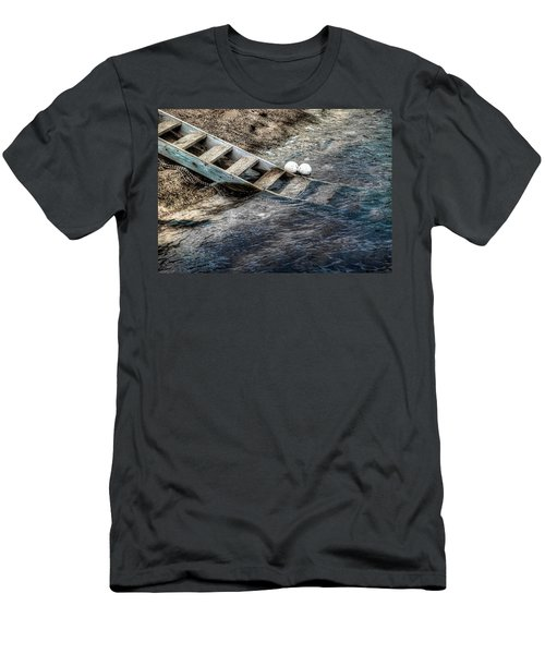 Men's T-Shirt (Slim Fit) featuring the photograph Lost Boys by Wayne Sherriff