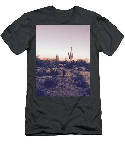 Lost In The Desert Men's T-Shirt (Athletic Fit)