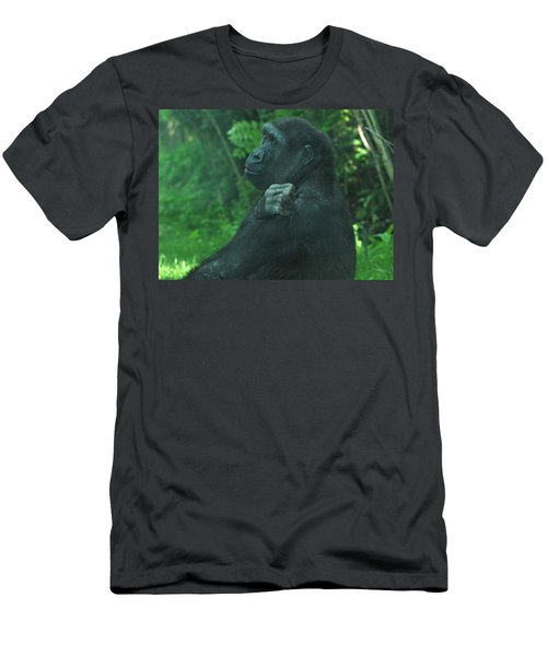 Men's T-Shirt (Slim Fit) featuring the photograph Lost In Thought by Richard Bryce and Family