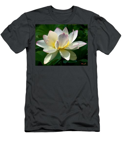 Lotus Beauty--disheveled Dl061 Men's T-Shirt (Athletic Fit)