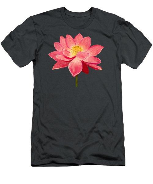 Lotus Flower Men's T-Shirt (Slim Fit) by Anastasiya Malakhova