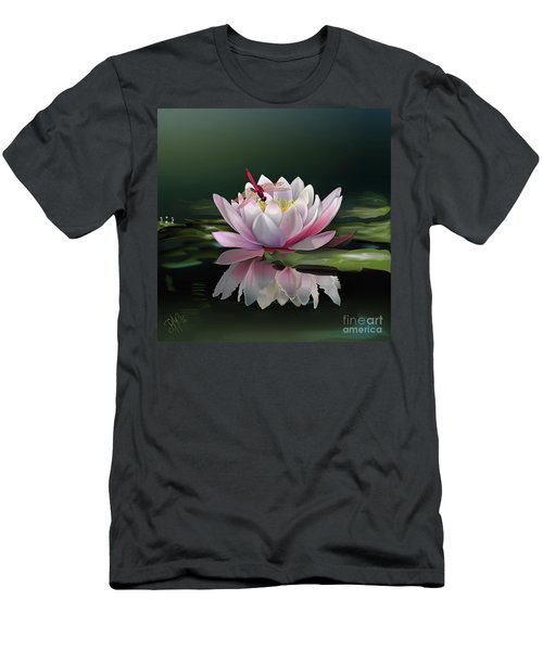 Lotus Meditation Men's T-Shirt (Athletic Fit)