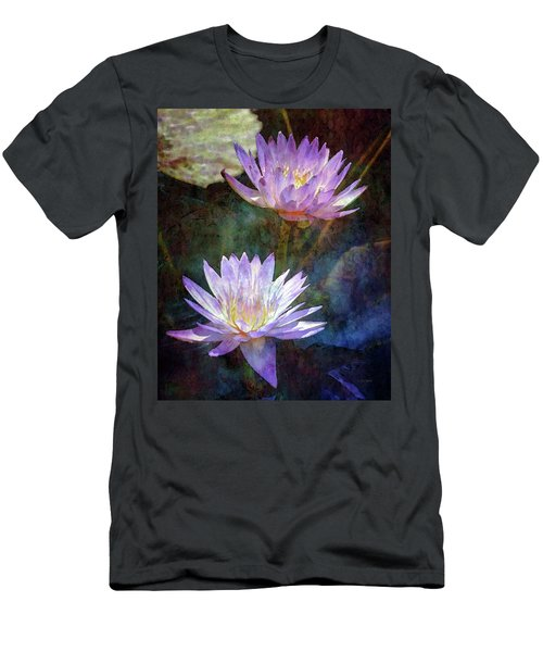 Lotus Reflections 2980 Idp_2 Men's T-Shirt (Athletic Fit)