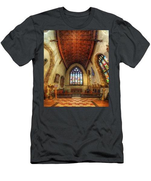 Loughborough Church - Altar Vertorama Men's T-Shirt (Athletic Fit)