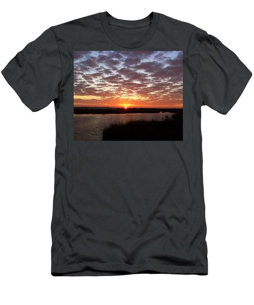 Men's T-Shirt (Slim Fit) featuring the photograph Louisiana Morning by John Glass