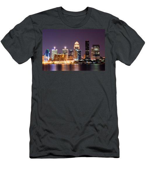 Louisville 1 Men's T-Shirt (Athletic Fit)