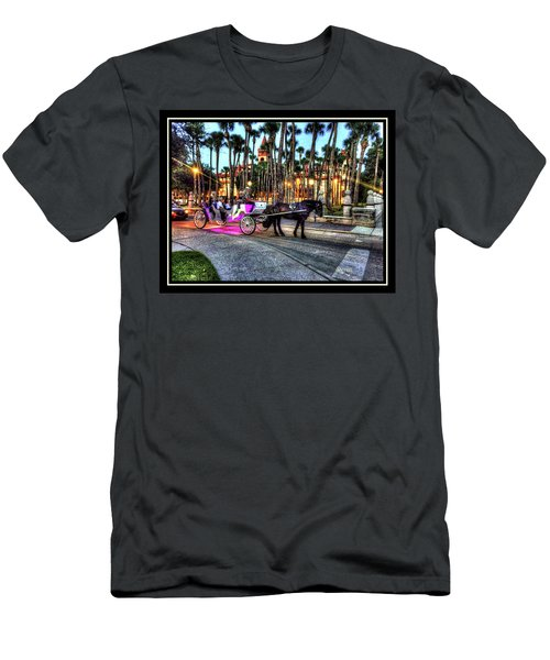 Men's T-Shirt (Slim Fit) featuring the photograph Love And St Augustine by Steven Lebron Langston
