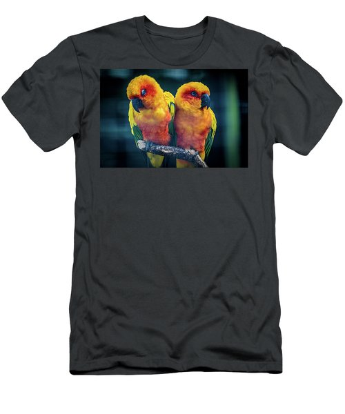 Men's T-Shirt (Slim Fit) featuring the photograph Love Birds by Chris Lord