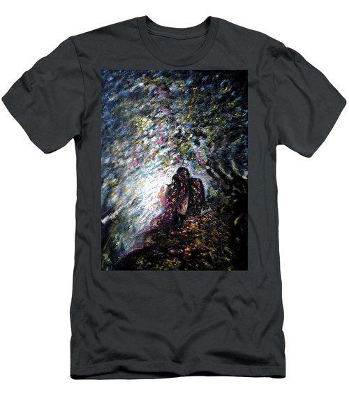 Love In Niagara Fall Men's T-Shirt (Athletic Fit)
