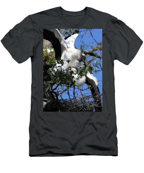 Love Is In The Air Men's T-Shirt (Slim Fit) by Lamarre Labadie
