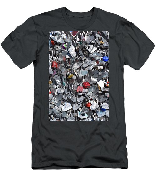 Love Locks On Fremont Street Men's T-Shirt (Athletic Fit)