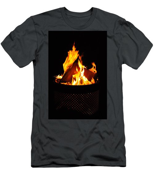 Love Of Fire Men's T-Shirt (Athletic Fit)