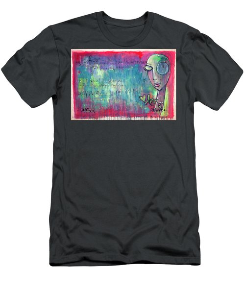Love Painting Men's T-Shirt (Athletic Fit)