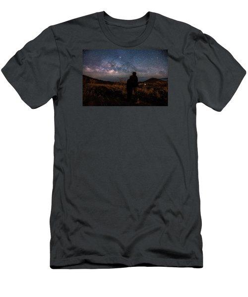 Loveing The  Universe Men's T-Shirt (Slim Fit) by Eti Reid