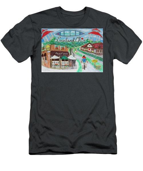 Loveland Ohio Men's T-Shirt (Slim Fit) by Diane Pape