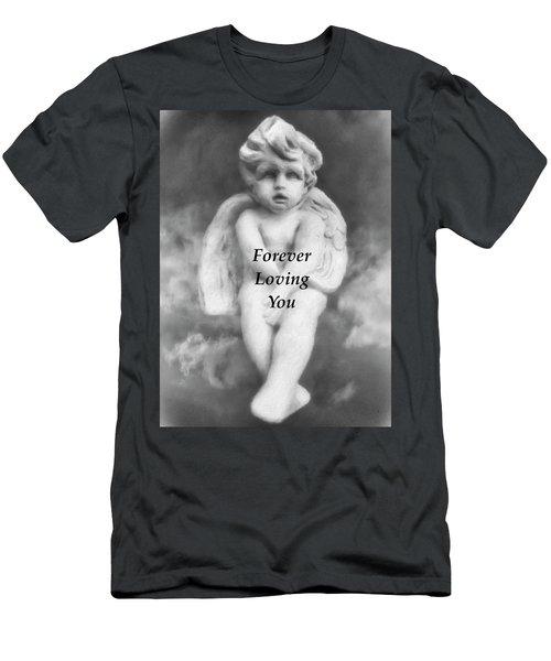 Loving Angel  Men's T-Shirt (Athletic Fit)