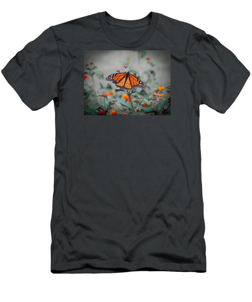 Loving The Lantana  Men's T-Shirt (Athletic Fit)