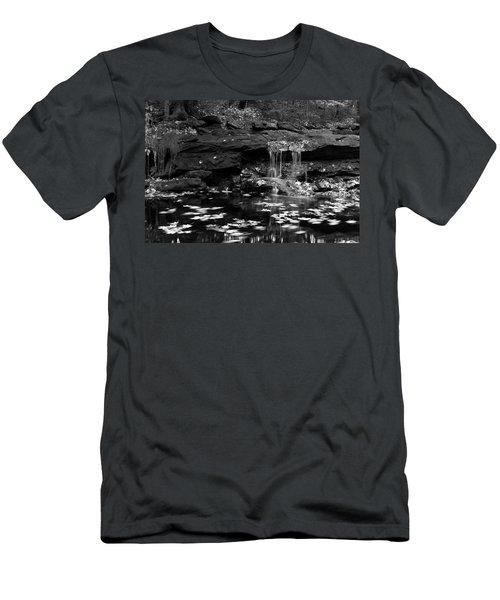 Low Falls Men's T-Shirt (Slim Fit) by Jeff Severson