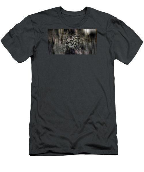 Men's T-Shirt (Slim Fit) featuring the photograph Low Tide Abstraction by Steve Siri