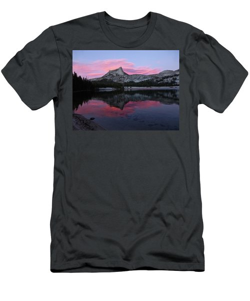 Lower Cathedral Lake Sunset Men's T-Shirt (Athletic Fit)