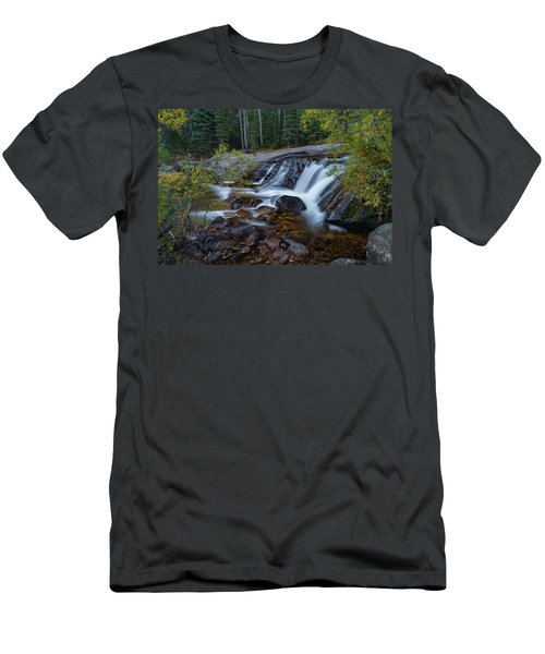 Lower Copeland Falls Men's T-Shirt (Slim Fit) by Gary Lengyel