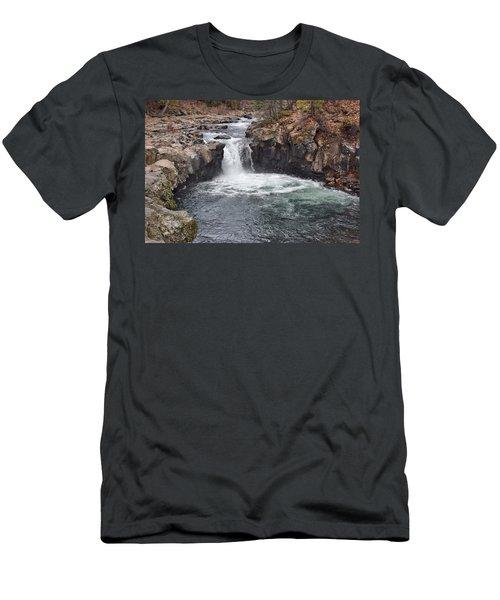 Lower Mccloud Falls Men's T-Shirt (Athletic Fit)