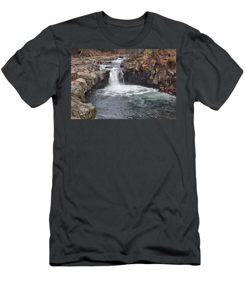 Lower Mccloud Falls Men's T-Shirt (Athletic Fit)