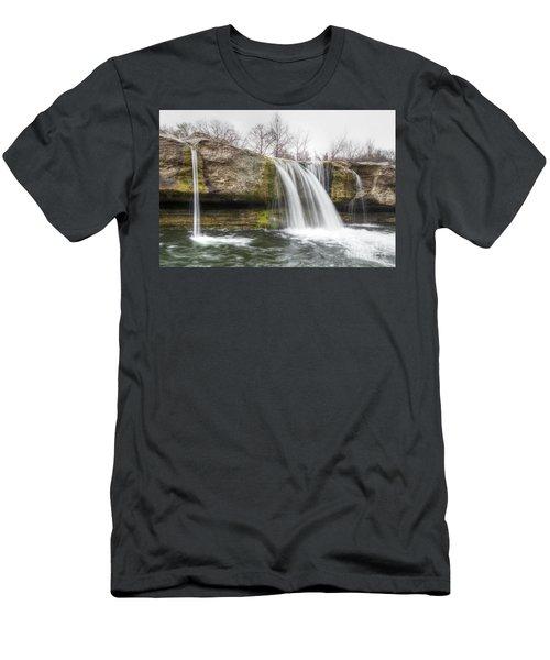 Lower Mckinney Falls Men's T-Shirt (Athletic Fit)