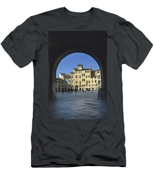 Lucca Piazza Men's T-Shirt (Athletic Fit)