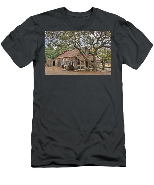 Luckenbach Post Office And General Store_1 Men's T-Shirt (Athletic Fit)