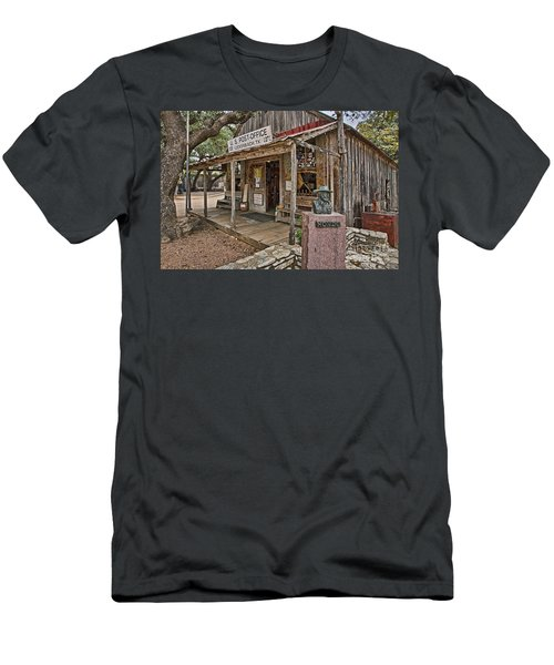 Luckenbach Post Office And General Store_2 Men's T-Shirt (Athletic Fit)