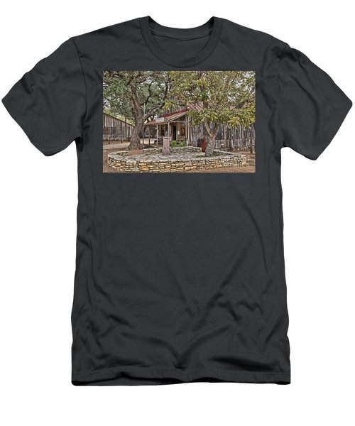Luckenbach Post Office And General Store_3 Men's T-Shirt (Athletic Fit)