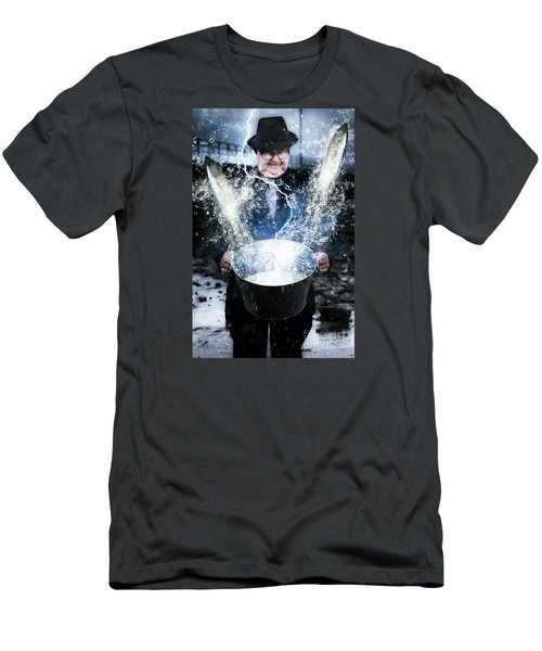 Men's T-Shirt (Athletic Fit) featuring the photograph Lucky Strike by Jorgo Photography - Wall Art Gallery