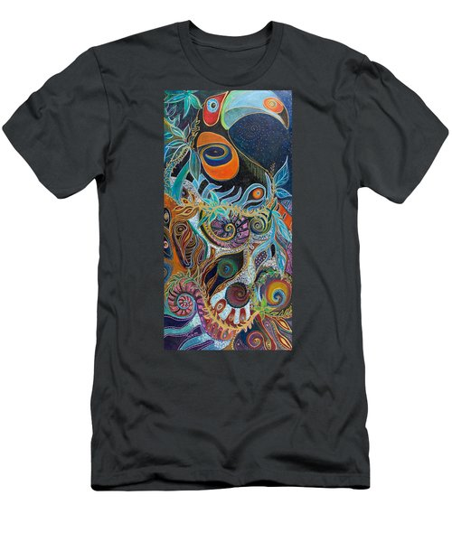 Luminous Men's T-Shirt (Slim Fit) by Leela Payne