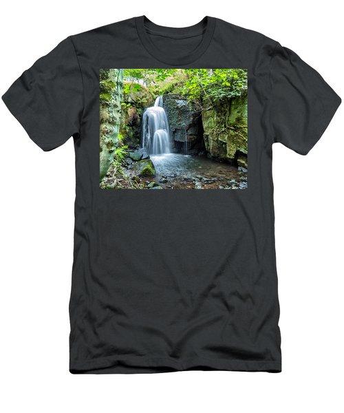 Lumsdale Falls Men's T-Shirt (Athletic Fit)