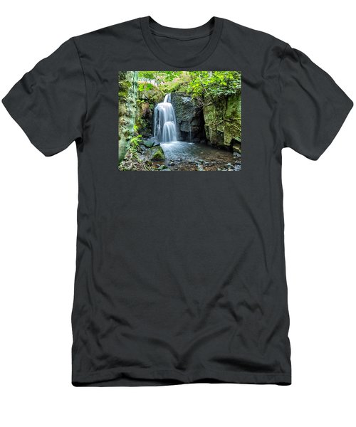 Lumsdale Falls Men's T-Shirt (Athletic Fit)