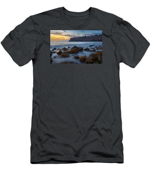 Lunada Bay Men's T-Shirt (Slim Fit) by Ed Clark