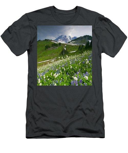 Lupine Storm Men's T-Shirt (Athletic Fit)