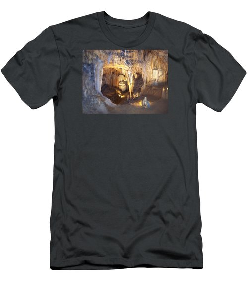 Luray Caverns Men's T-Shirt (Slim Fit) by Richard Bryce and Family