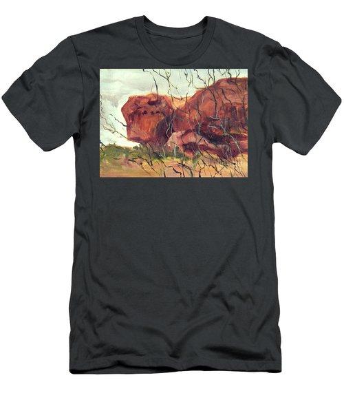 Lurking Rock Men's T-Shirt (Athletic Fit)
