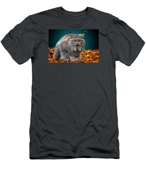 Lynx Men's T-Shirt (Slim Fit) by Brian Stevens