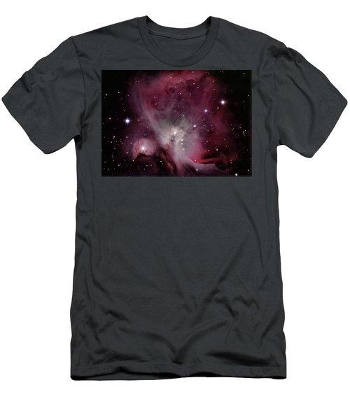 M42 Orion Nebula Men's T-Shirt (Athletic Fit)