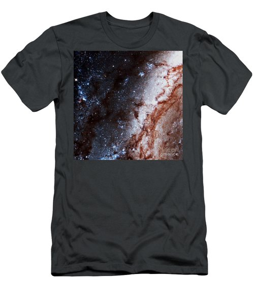 M51 Hubble Legacy Archive Men's T-Shirt (Athletic Fit)